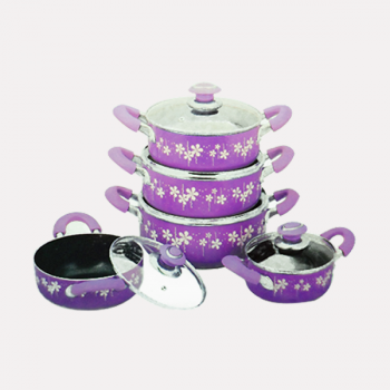 amilex nonstick casserole set (10 pieces) home-and-kitchen special offer best deals buy one lk sri lanka 1453800432.png