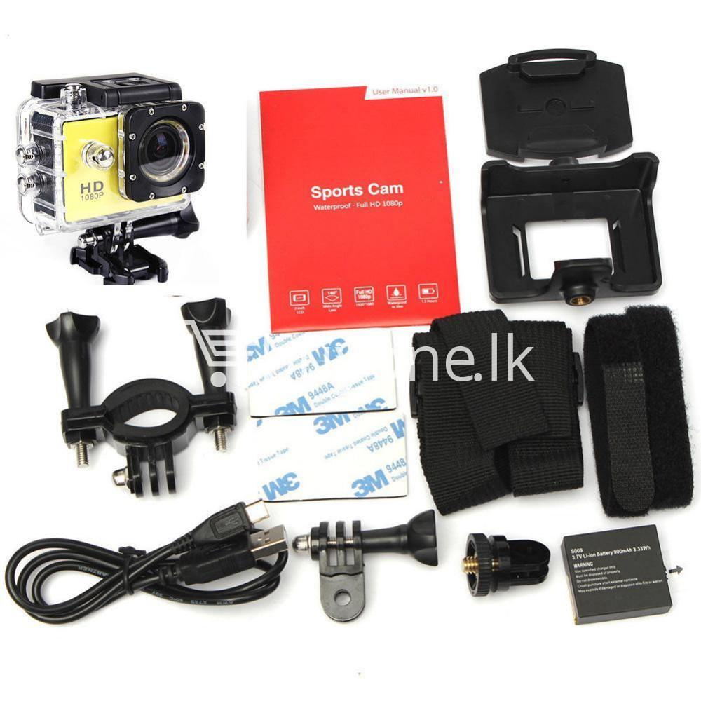 11in1 action camera 12mp hd 1080p 1.5inch lcd diving waterproof sport dv with bicycle stand and helmet base cameras accessories special best offer buy one lk sri lanka 77579 - 11in1 Action Camera 12MP HD 1080P 1.5inch LCD Diving Waterproof Sport DV with bicycle stand and Helmet base