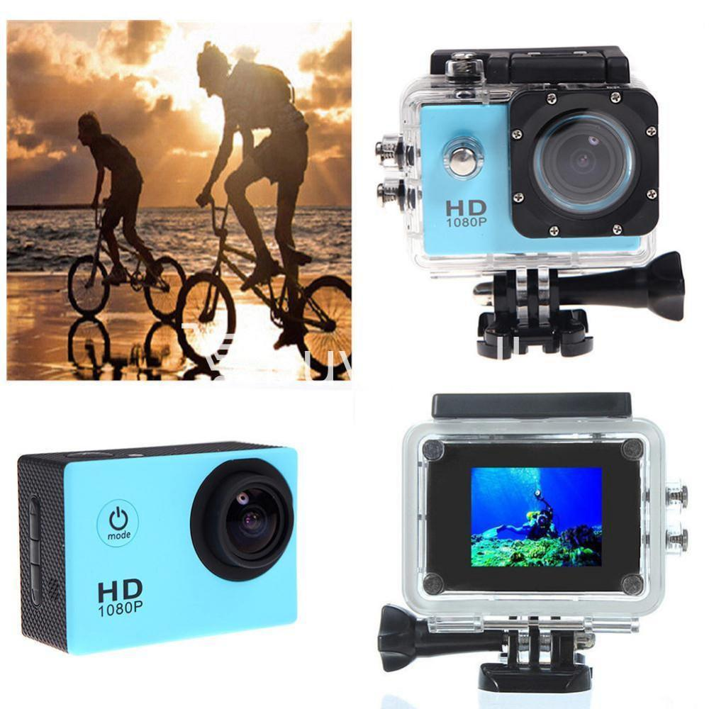 11in1 action camera 12mp hd 1080p 1.5inch lcd diving waterproof sport dv with bicycle stand and helmet base cameras accessories special best offer buy one lk sri lanka 77582 1 - 11in1 Action Camera 12MP HD 1080P 1.5inch LCD Diving Waterproof Sport DV with bicycle stand and Helmet base