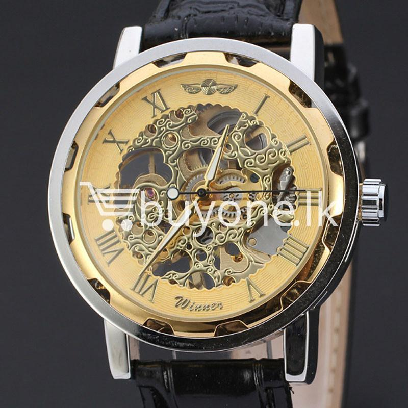 2016 winner luxury stainless steel wind watch for men automatic replica men watches special best offer buy one lk sri lanka 13050 1 - 2016 Winner Luxury Stainless Steel Wind Watch For Men Automatic Replica