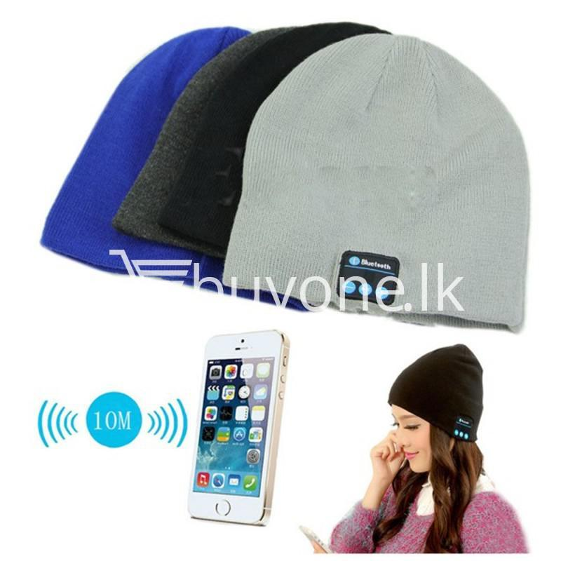 5in1 wireless smart cap headphone headset speaker mic mobile phone accessories special best offer buy one lk sri lanka 46924 - 5in1 Wireless Smart Cap Headphone Headset Speaker Mic