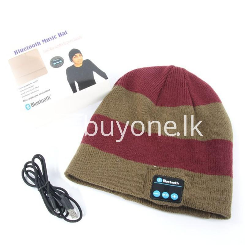 5in1 wireless smart cap headphone headset speaker mic mobile phone accessories special best offer buy one lk sri lanka 46925 1 - 5in1 Wireless Smart Cap Headphone Headset Speaker Mic