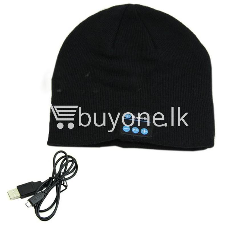 5in1 wireless smart cap headphone headset speaker mic mobile phone accessories special best offer buy one lk sri lanka 46925 - 5in1 Wireless Smart Cap Headphone Headset Speaker Mic