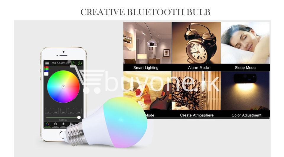 bluetooth smart led bulb for home hotel with warranty home and kitchen special best offer buy one lk sri lanka 73864 - Bluetooth Smart LED Bulb For Home Hotel with Warranty
