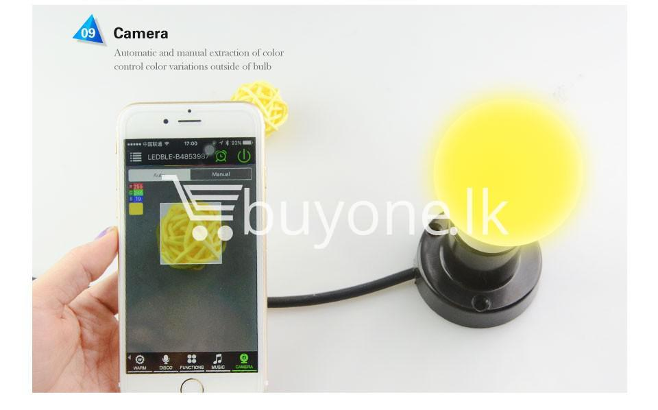 bluetooth smart led bulb for home hotel with warranty home and kitchen special best offer buy one lk sri lanka 73869 1 - Bluetooth Smart LED Bulb For Home Hotel with Warranty