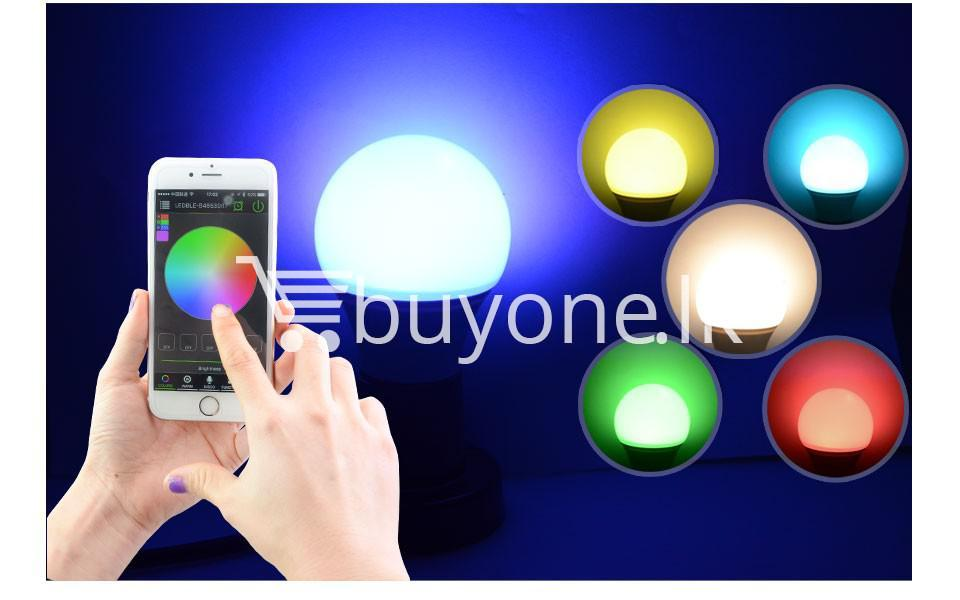 bluetooth smart led bulb for home hotel with warranty home and kitchen special best offer buy one lk sri lanka 73872 - Bluetooth Smart LED Bulb For Home Hotel with Warranty