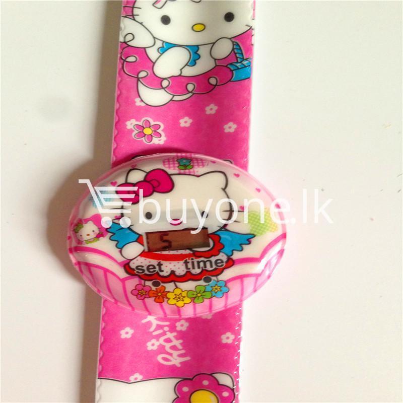 cartoon digital watch slap snap kids watch childrens watches special best offer buy one lk sri lanka 09564 1 - Cartoon Digital Watch Slap Snap Kids Watch