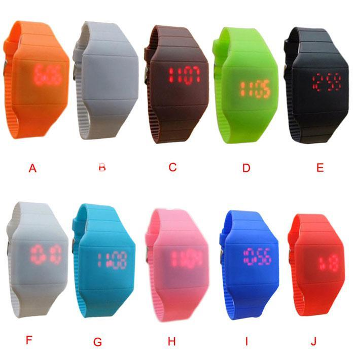 fashion ultra thin led silicone sport watch lovers watches special best offer buy one lk sri lanka 23085 3 Fashion Ultra Thin LED Silicone Sport Watch