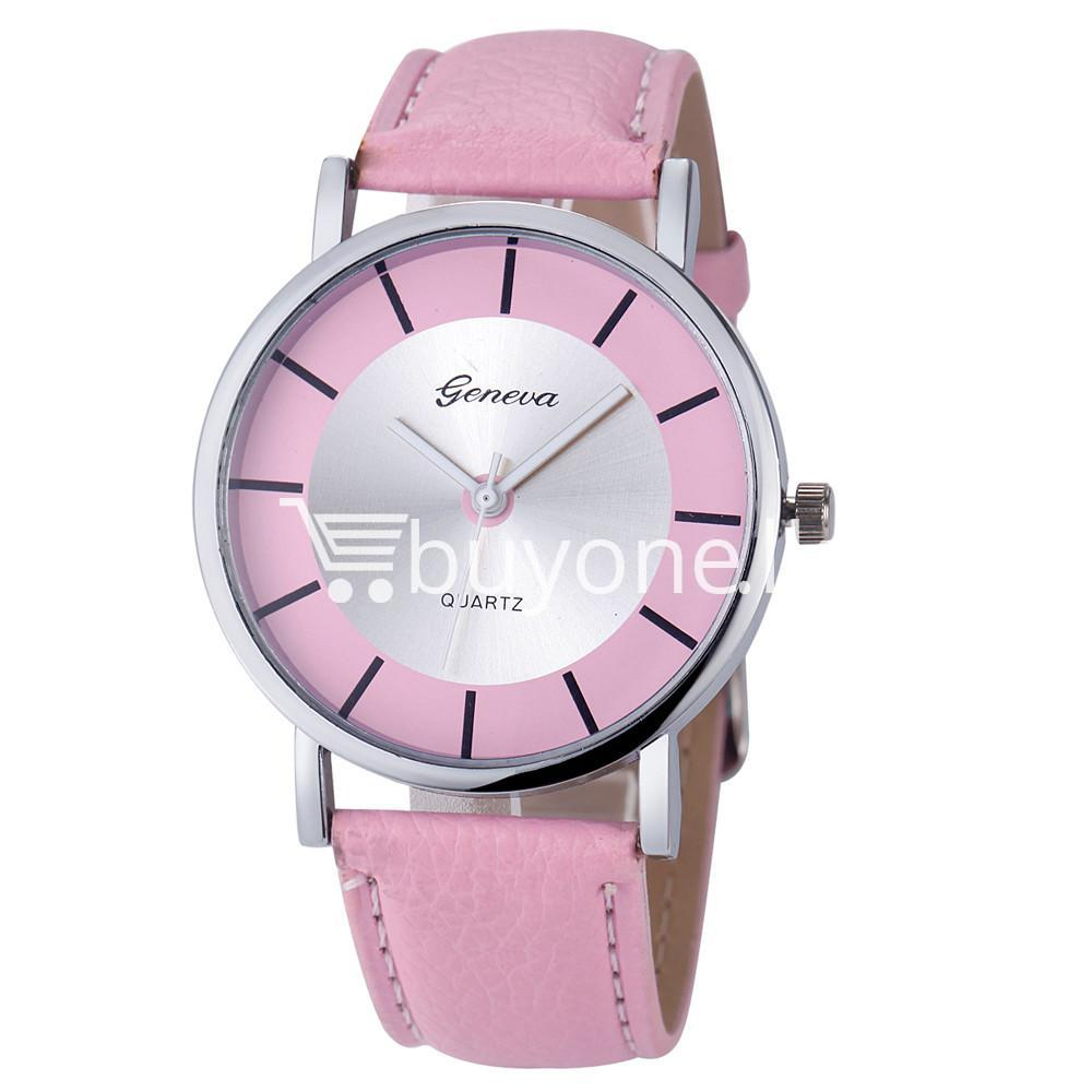 geneva quartz casual sports watch for ladieswomens watch store special best offer buy one lk sri lanka 10121 - Geneva Quartz Casual Sports Watch For Ladies/Womens