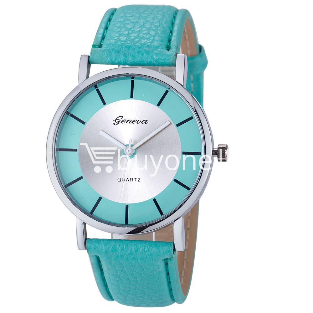 geneva quartz casual sports watch for ladieswomens watch store special best offer buy one lk sri lanka 10122 - Geneva Quartz Casual Sports Watch For Ladies/Womens