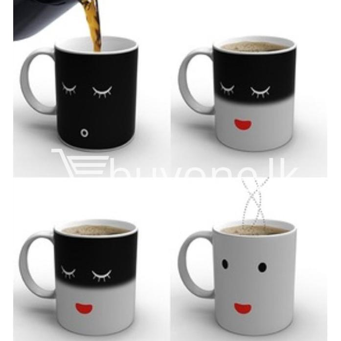 good morning magic heat sensitive coffee mug for coffee lovers home and kitchen special best offer buy one lk sri lanka 61663 2 - Good Morning Magic Heat Sensitive Coffee Mug For Coffee Lovers