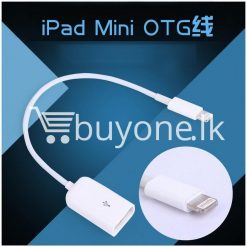 lightning to usb otg cable for iphone 55s6 ipad 4 and ipad mini mobile store special best offer buy one lk sri lanka 14642 247x247 - Lightning to USB OTG Cable for iphone 5/5s/6 iPad 4 and iPad Mini