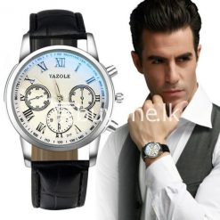 luxury fashion mens blue ray glass quartz analog watch men watches special best offer buy one lk sri lanka 10947 247x247 - Luxury Fashion Mens Blue Ray Glass Quartz Analog Watch