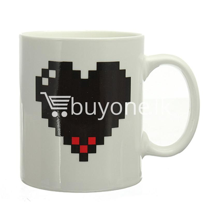 magic heart hot cold coffee mug for couples lovers home and kitchen special best offer buy one lk sri lanka 61983 3 - Magic Heart Hot Cold Coffee Mug For Couples & Lovers