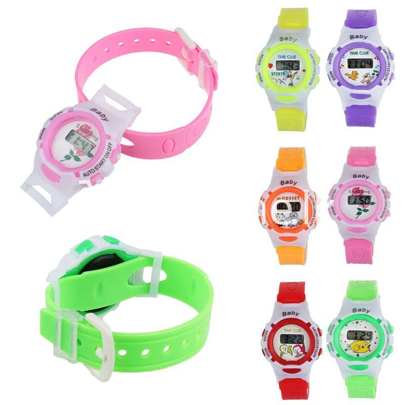 modern colorful led digital sport watch for children childrens watches special best offer buy one lk sri lanka 22758 1 - Modern Colorful LED Digital Sport Watch For Children