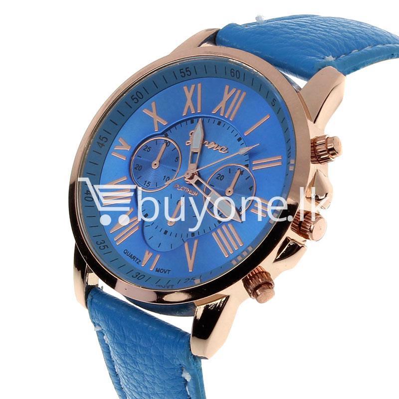 new geneva casual roman numerals quartz women wrist watches watch store special best offer buy one lk sri lanka 11982 1 - New Geneva Casual Roman Numerals Quartz Women Wrist Watches