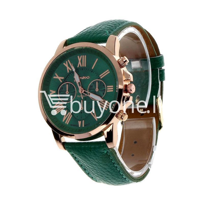 new geneva casual roman numerals quartz women wrist watches watch store special best offer buy one lk sri lanka 11989 - New Geneva Casual Roman Numerals Quartz Women Wrist Watches