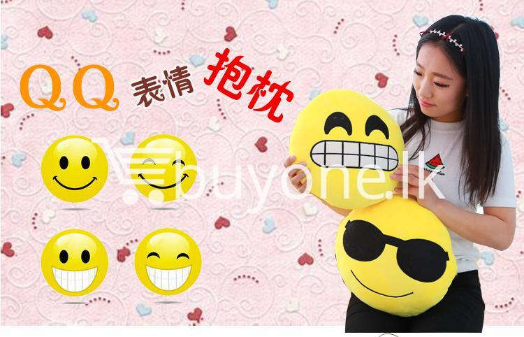 soft emotional smiley yellow round cushion pillow home and kitchen special best offer buy one lk sri lanka 10747 1 Soft Emotional Smiley Yellow Round Cushion Pillow