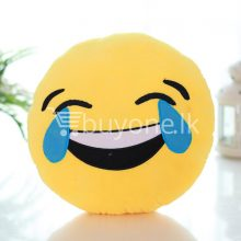 soft emotional smiley yellow round cushion pillow home-and-kitchen special best offer buy one lk sri lanka 10747.jpg