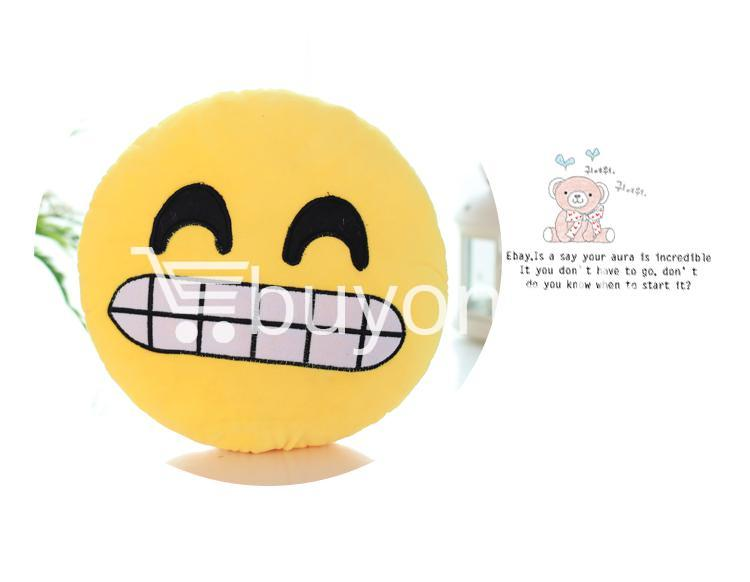 soft emotional smiley yellow round cushion pillow home and kitchen special best offer buy one lk sri lanka 10751 1 - Soft Emotional Smiley Yellow Round Cushion Pillow
