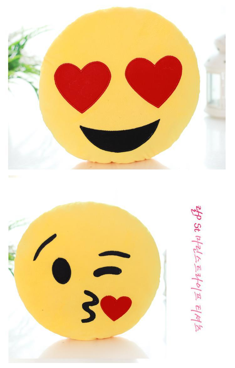 soft emotional smiley yellow round cushion pillow home and kitchen special best offer buy one lk sri lanka 10752 - Soft Emotional Smiley Yellow Round Cushion Pillow
