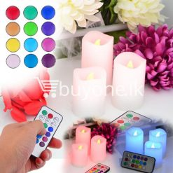 wireless romantic luma color changing candles for party birthday christmas valentine home and kitchen special best offer buy one lk sri lanka 42164 247x247 - Wireless Romantic Luma Color Changing Candles For Party, Birthday, Christmas, Valentine