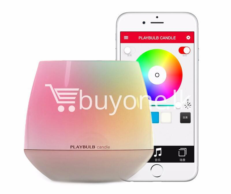 wireless smart led playbulb electric candle night light for iphone htc samsung home and kitchen special best offer buy one lk sri lanka 72414 - Wireless Smart LED Playbulb Electric Candle night light For iPhone, HTC, Samsung