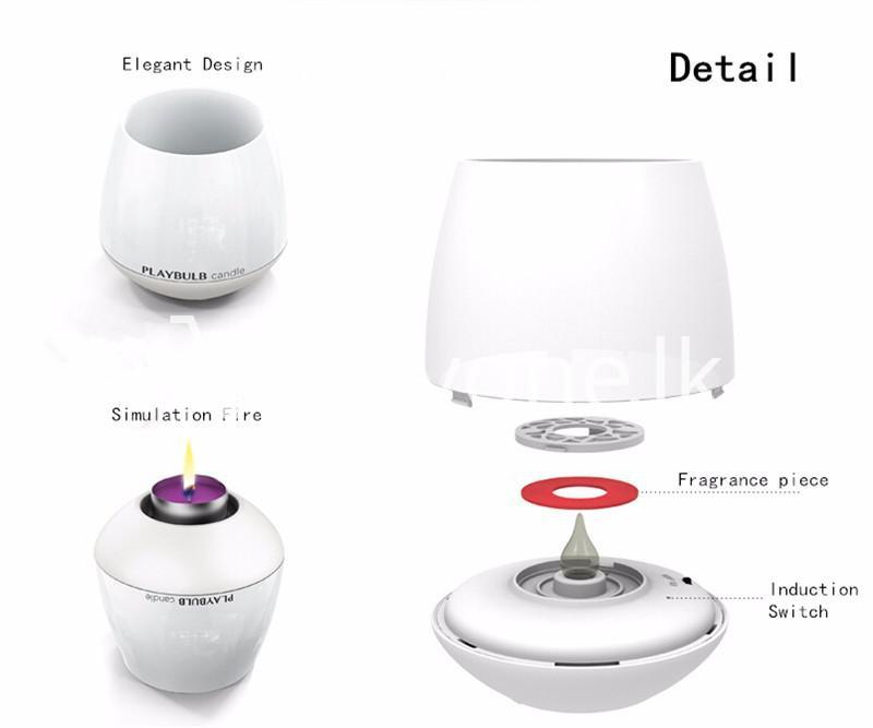 wireless smart led playbulb electric candle night light for iphone htc samsung home and kitchen special best offer buy one lk sri lanka 72415 5 - Wireless Smart LED Playbulb Electric Candle night light For iPhone, HTC, Samsung