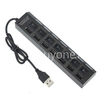 7 ports led usb high speed hub with power switch for laptop computer mobile-phone-accessories special best offer buy one lk sri lanka 03047.jpg