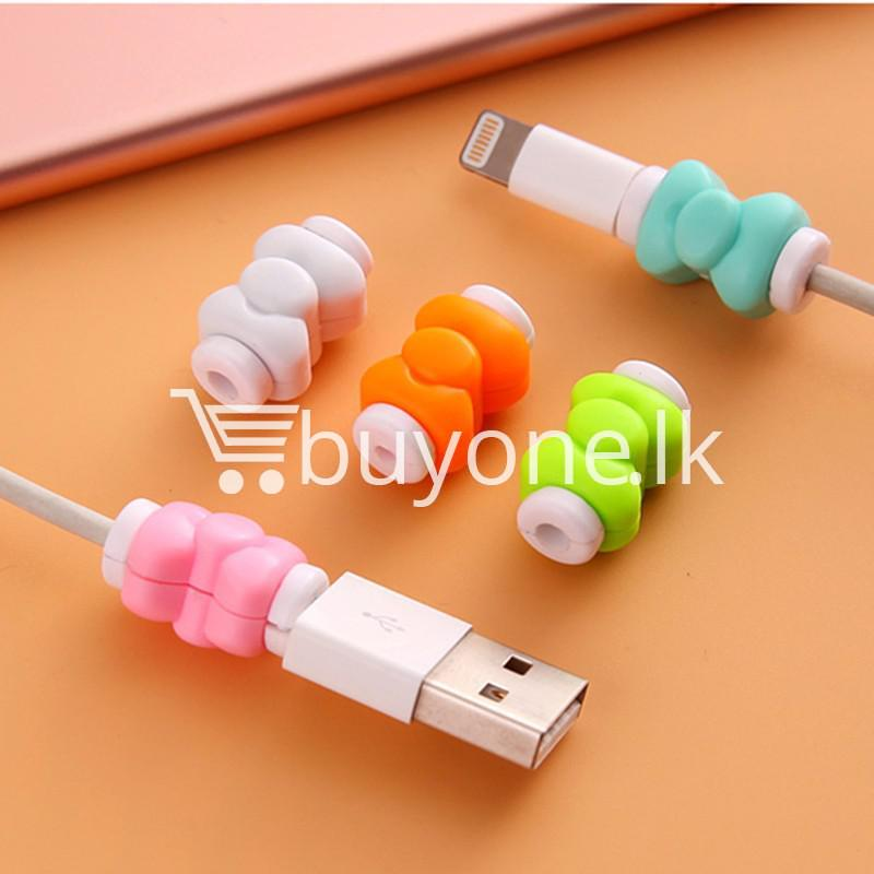 mini portable usb cable earphones protector for apple iphone android mobile store special best offer buy one lk sri lanka 07029 1 - Mini Portable USB Cable Earphones Protector for Apple iPhone & Android