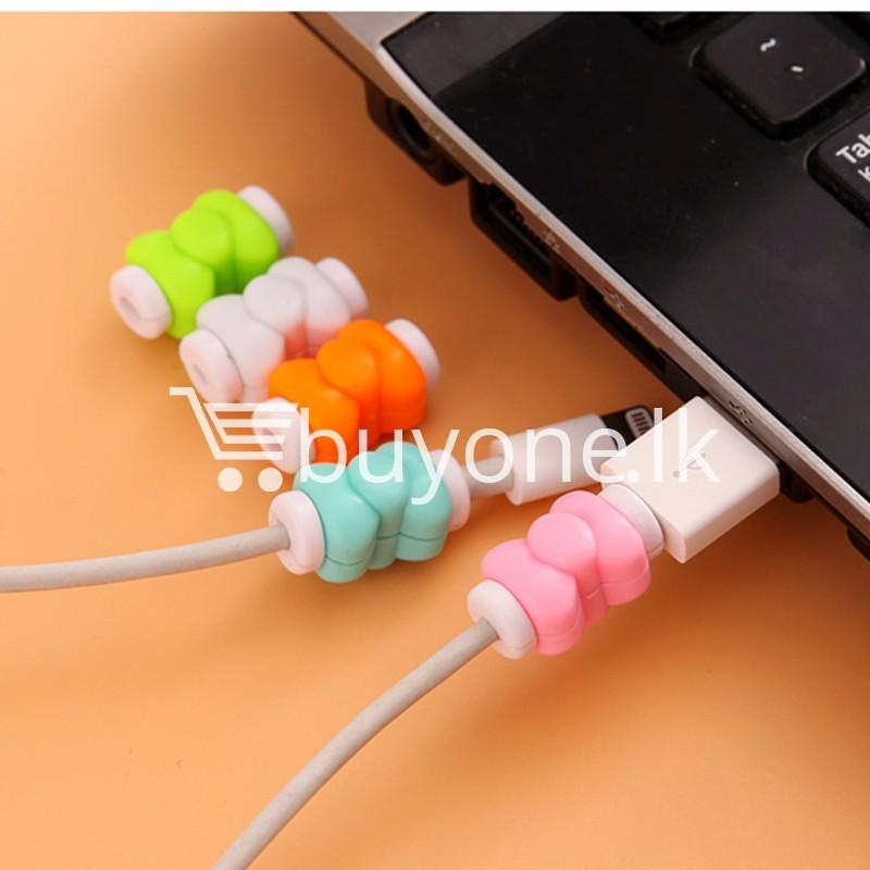 mini portable usb cable earphones protector for apple iphone android mobile store special best offer buy one lk sri lanka 07029 Mini Portable USB Cable Earphones Protector for Apple iPhone & Android