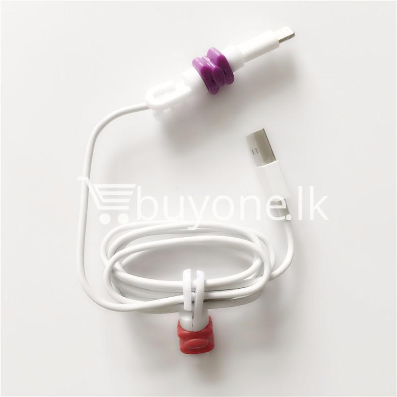 mini portable usb cable earphones protector for apple iphone android mobile store special best offer buy one lk sri lanka 07031 Mini Portable USB Cable Earphones Protector for Apple iPhone & Android