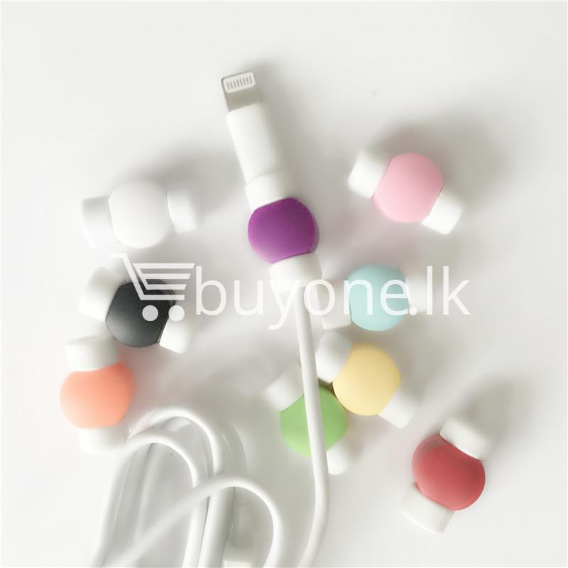 mini portable usb cable earphones protector for apple iphone android mobile store special best offer buy one lk sri lanka 07035 1 - Mini Portable USB Cable Earphones Protector for Apple iPhone & Android
