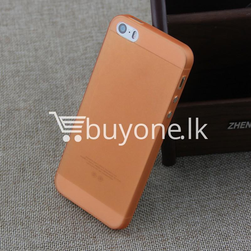 ultra thin translucent slim soft iphone case for iphone 5 5s mobile phone accessories special best offer buy one lk sri lanka 06262 2 Ultra thin Translucent Slim Soft iPhone case for iPhone 5 & 5S