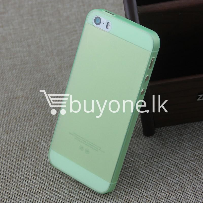 ultra thin translucent slim soft iphone case for iphone 5 5s mobile phone accessories special best offer buy one lk sri lanka 06263 Ultra thin Translucent Slim Soft iPhone case for iPhone 5 & 5S