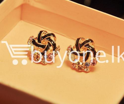 2016 new upscale temperament rhinestone stud earrings jewelry earrings special best offer buy one lk sri lanka 63038 - 2016 New Upscale Temperament Rhinestone Stud Earrings Jewelry