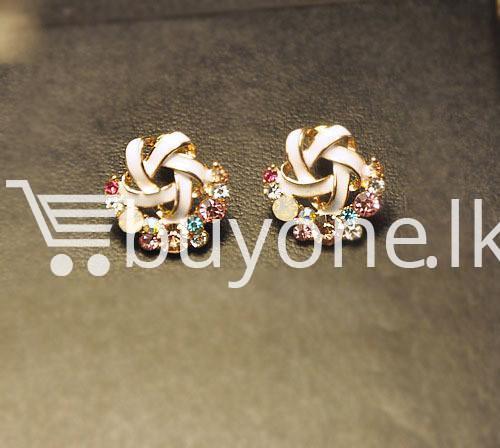 2016 new upscale temperament rhinestone stud earrings jewelry earrings special best offer buy one lk sri lanka 63039 - 2016 New Upscale Temperament Rhinestone Stud Earrings Jewelry