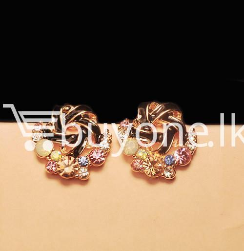 2016 new upscale temperament rhinestone stud earrings jewelry earrings special best offer buy one lk sri lanka 63040 - 2016 New Upscale Temperament Rhinestone Stud Earrings Jewelry