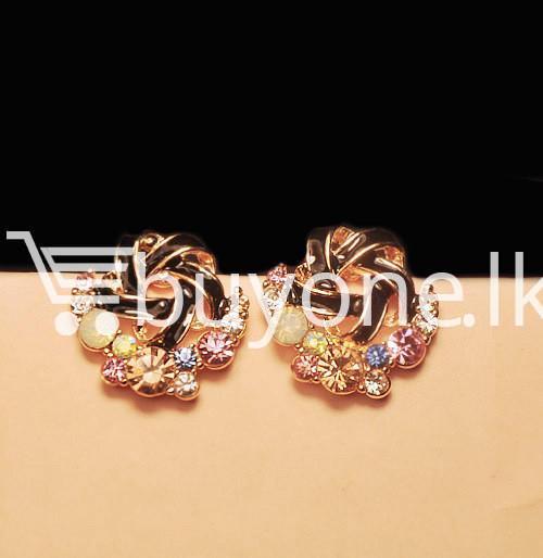 2016 new upscale temperament rhinestone stud earrings jewelry earrings special best offer buy one lk sri lanka 63040 - 2016 New Upscale Temperament Rhinestone Stud Earrings Jewelry