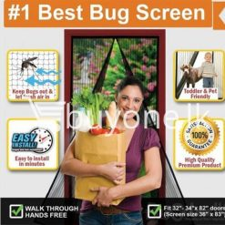 magnetic magic mesh–hands free screen door as seen on tv avurudu best deals offers send gifts sri lanka buy one lk 3 247x247 - Magnetic Magic Mesh – Hands Free Screen Door As Seen On TV