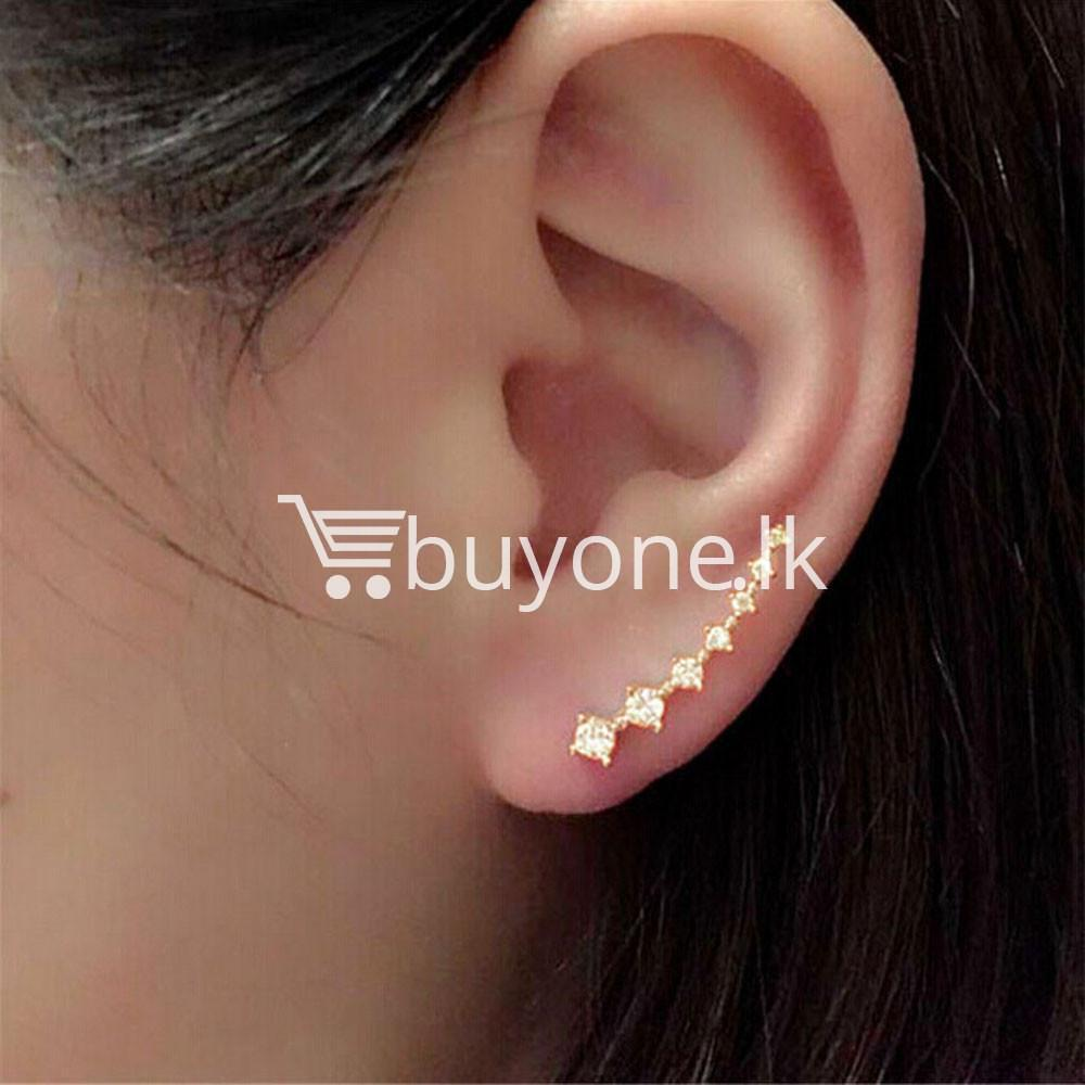 new fashion women rhinestone crystal earrings earrings special best offer buy one lk sri lanka 62696 New Fashion  Women Rhinestone Crystal Earrings