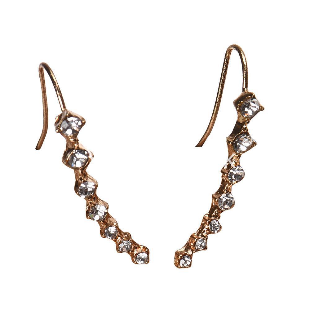 new fashion women rhinestone crystal earrings earrings special best offer buy one lk sri lanka 62700 - New Fashion  Women Rhinestone Crystal Earrings