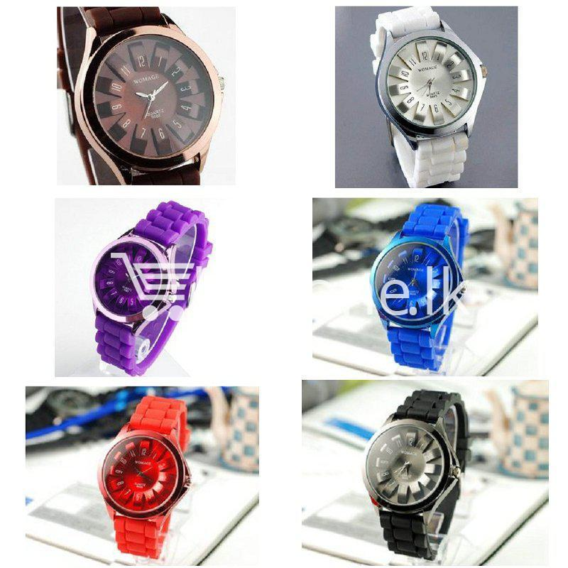 womage top selling brand sunflower quartz silicone watch watch store special best offer buy one lk sri lanka 84923 2 - Womage Top Selling Brand Sunflower Quartz Silicone Watch
