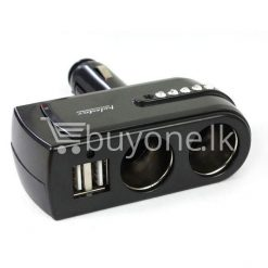 2 usb charger supply double sockets car cigarette lighter extender splitter automobile store special best offer buy one lk sri lanka 65756 1 247x247 - 2 USB Charger Supply + Double Sockets Car Cigarette Lighter Extender Splitter