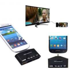 hdtv tv adapter with otg card reader for samsung galaxy s3 s4 s5 i9300 i9500 note 2 3 4 edge mobile phone accessories special best offer buy one lk sri lanka 97594 247x247 - HDTV TV Adapter with OTG Card Reader for Samsung Galaxy S3, S4, S5, i9300, i9500, Note 2 3 4 Edge