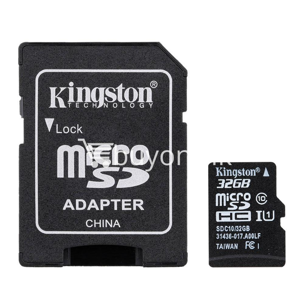 32gb kingston memory card micro sd class 10 sdhc with adapter mobile phone accessories special best offer buy one lk sri lanka 23393 32GB Kingston Memory Card Micro SD Class 10 SDHC with Adapter