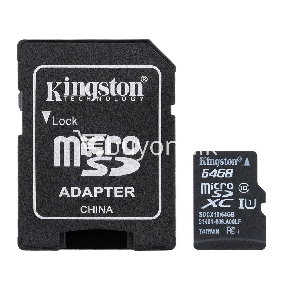 64gb kingston micro sd card tf class10 memory card with warranty mobile phone accessories special best offer buy one lk sri lanka 24047 64GB Kingston Micro SD Card TF Class10 Memory Card with Warranty