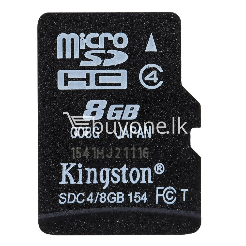 8gb kingston micro sd card memory card with adapter mobile phone accessories special best offer buy one lk sri lanka 24559 - 8GB Kingston Micro SD Card Memory Card with Adapter