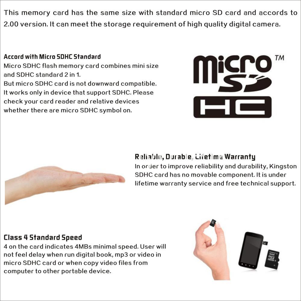 8gb kingston micro sd card memory card with adapter mobile phone accessories special best offer buy one lk sri lanka 24563 - 8GB Kingston Micro SD Card Memory Card with Adapter