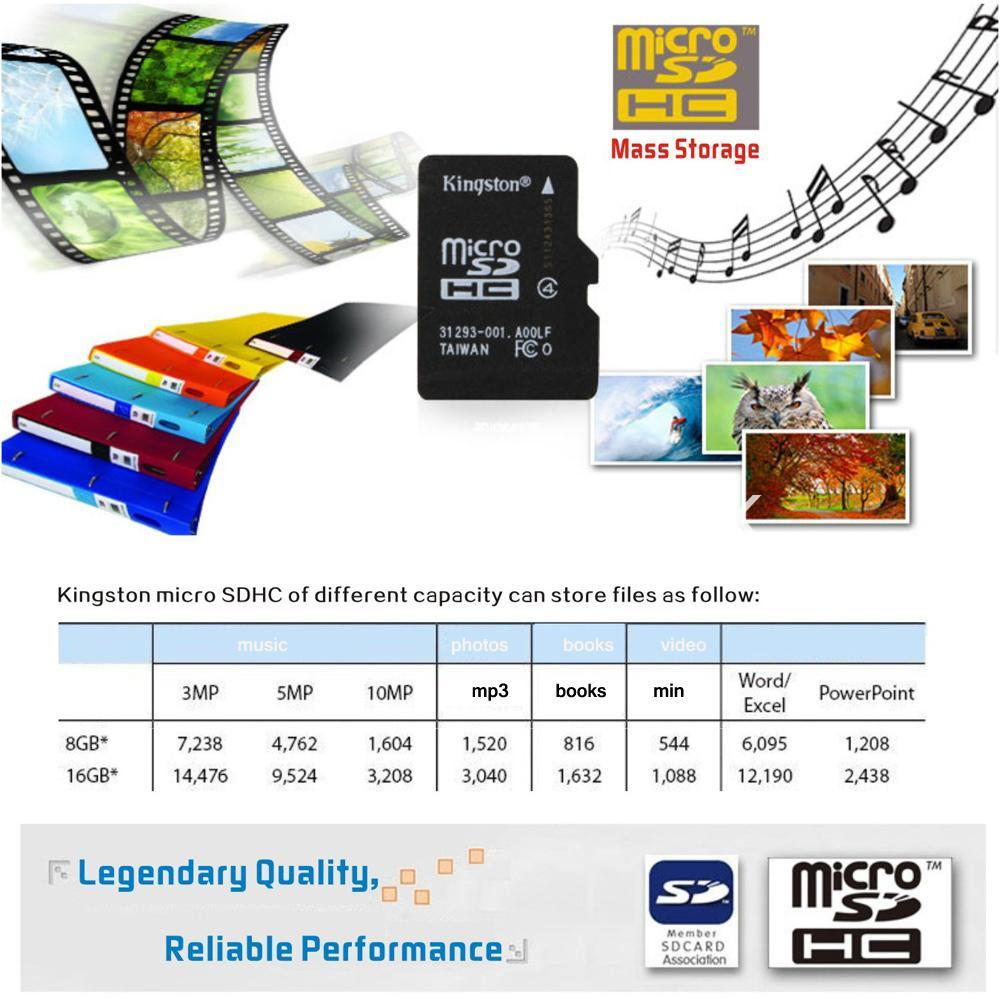 8gb kingston micro sd card memory card with adapter mobile phone accessories special best offer buy one lk sri lanka 24567 - 8GB Kingston Micro SD Card Memory Card with Adapter